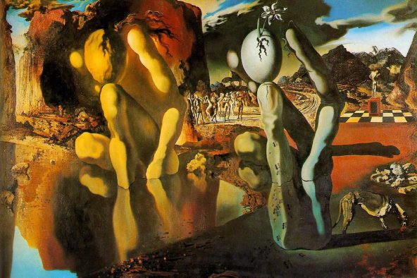 La métamorphose de Narcisse, Salvador Dali