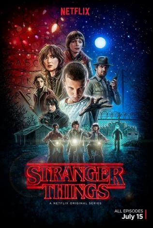 stranger things, poster
