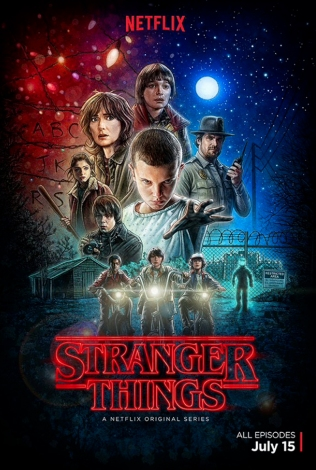 stranger things, poster