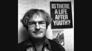 Y-a-t-il une vie après la jeunesse, dit le poster derrière Tim Leary