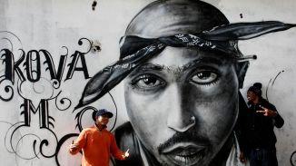 Tupac, Grafitti