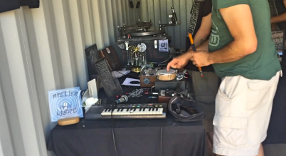 container musik + 2